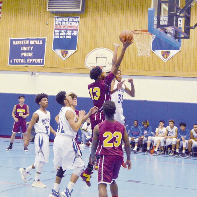 Ramstein, Kaiserslautern win all contests against Lakenheath, Baumholder