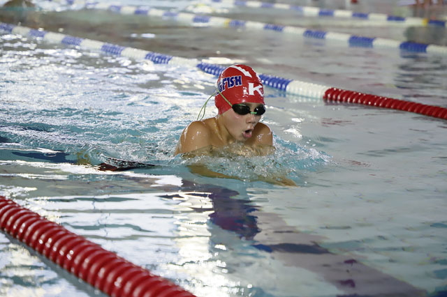 Kingfish swim to top honors in six-team meet