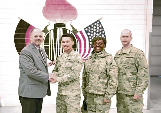 Airlifter of the week: 86th MUNS Stockpile Management crew chief