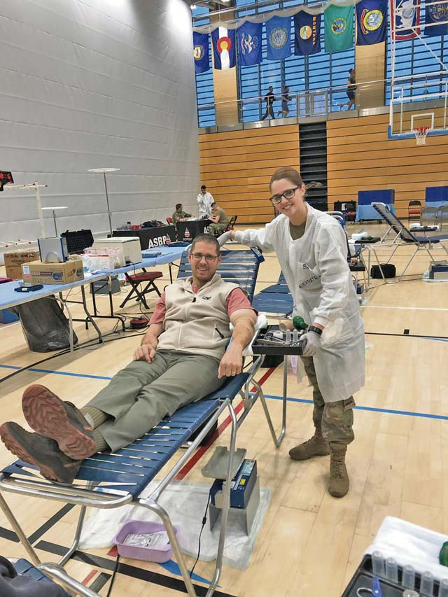 Blood donors save lives at LRMC