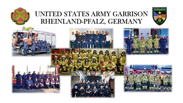 USAG RP fire department receives 2018 IMCOM-Europe awards