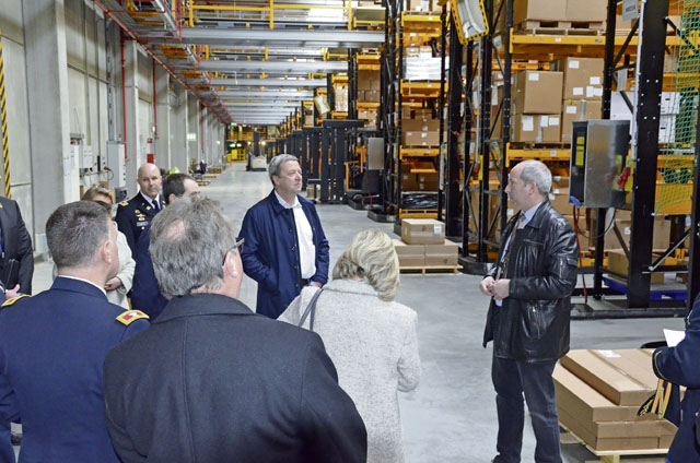 Garrison hosts local officials for Germersheim tour