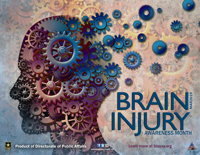 Did you know: March is brain injury awareness month?