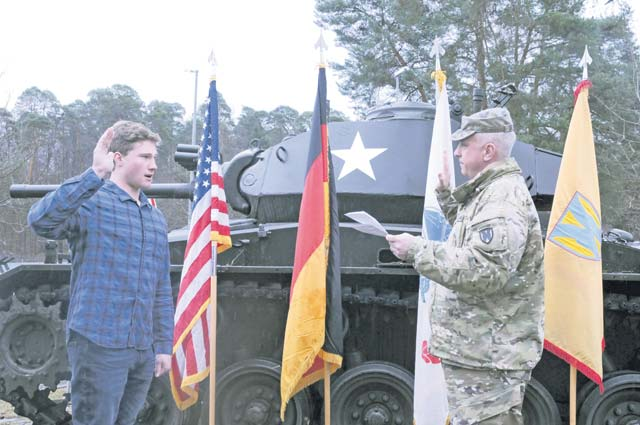21 TSC father shares Army bond with son