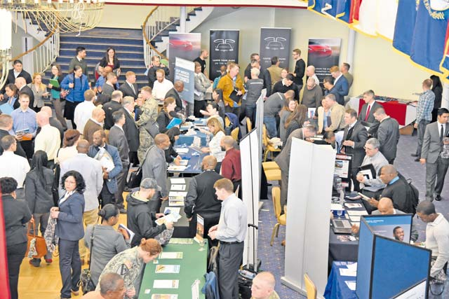Career Summit brings military community, civilian employers together