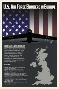 US Air Force B-52s deploy to Europe
