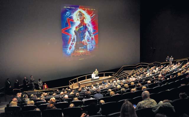 Higher, further, faster: 'Captain Marvel' embodies the warrior ethos