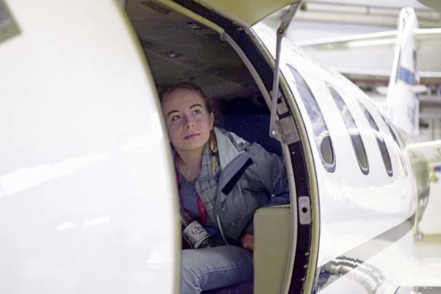 Shining a light on women in aviation