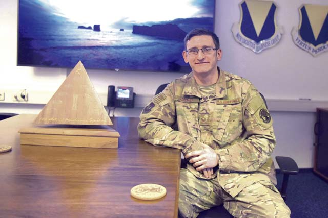An NCO who is exactly what the Air Force needs, honored as Airlifter of the Week