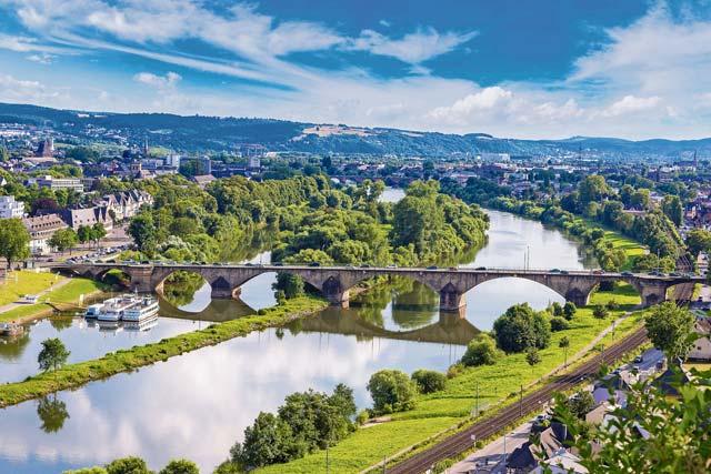 Trier to Koblenz: Eco biking adventure