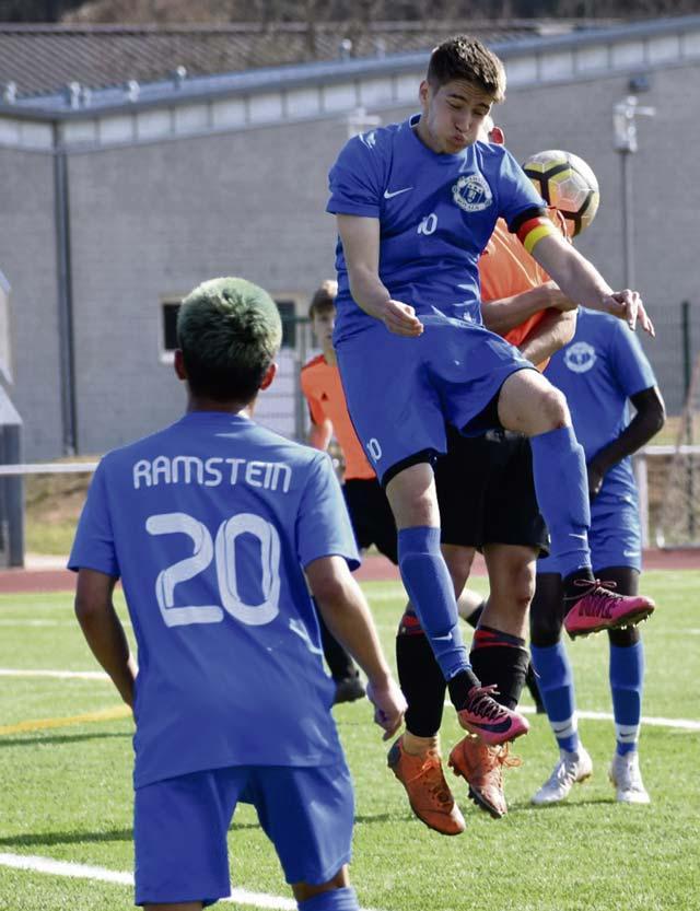 Ramstein boys, girls soccer sweep Spangdahlem
