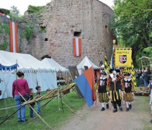 Landstuhl castle hosts event days