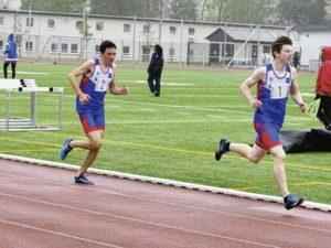 Inclement weather shortens Baumholder track, field meet