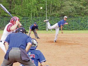 Ramstein Baseball sweeps  Kaiserslautern