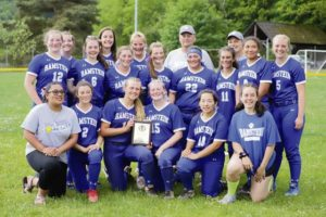 Wiesbaden defeats Ramstein 9-5 to win Division 1 softball title