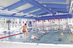 Reopening Baumholder Indoor Pool