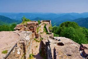 FleckenStein Castle hike; Alsace