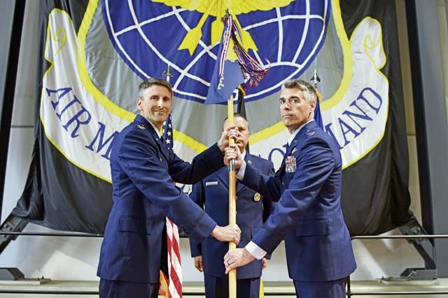 Assuming Command; 721 AMOG