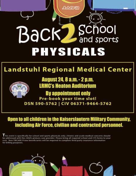 LRMC offers last-minute school, sports physicals for KMC students