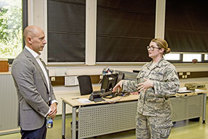 ASECAF for Manpower, Reserve Affairs seeks input at Ramstein