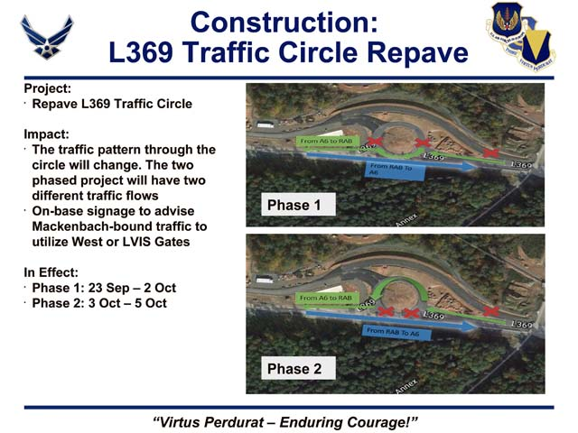 Construction on L369