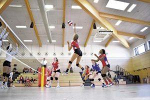 Ramstein wins twice in Volleyball, Kaiserslautern splits