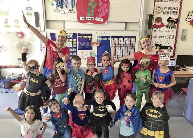 Super Hero Fun Friday