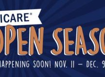 TRICARE Open Season. Happening soon. Nov. 11 to Dec. 9. TRICARE graphic