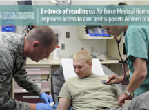 Air Force Medical Home focuses Airmen readiness through improvements on patient access, delivery of quality care, and continued support of mission requirements.