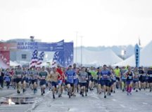 The Air Force Marathon, presented by Northrop Grumman, USAA and Boeing, is scheduled for Saturday, Sept. 19, 2020. The Health & Fitness Expo is held at Wright State University's Nutter Center and is scheduled for Sept. 17 and 18.