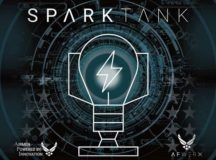 Spark Tank is an annual competition where Airmen pitch innovative ideas to top Air Force leadership and a panel of industry experts. Key project themes include improved task management, commercial best practices for healthcare, workforce development, automation, suicide prevention and detection, and maintenance and airfield assessment innovation. U.S. Air Force courtesy graphic