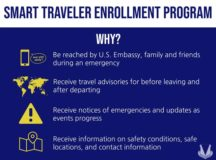 The Smart Traveler Enrollment Program is a free service provided to U.S. citizens by the Department of State. Members assigned within the U.S. European Command theater are required to enroll in STEP as mandated by the EUCOM commander. The program provides information, advisories, and other assistance while traveling abroad.