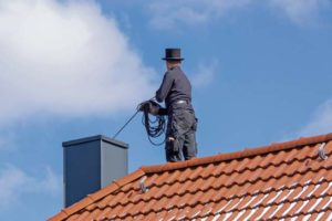 Sweeping your chimney can bring good luck