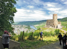 Burg Landshut sits high above the Mosel River and looks down on the city of Bernkastel-Kues. The post-card city and castle is the destination of the All-Terrain vehicle/Utility-Terrain Vehicle Trip through DFMWR Outdoor Recreation in Baumholder.