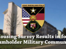 The Fall 2019 Housing Resident Survey results, released by the U.S. Army June 22, show an almost 2% increase from spring in overall satisfaction from Baumholder Military Community residents. Graphic by Jason Tudor