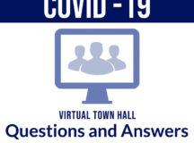 Virtual town hall talks return to school