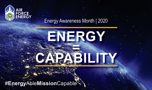 Department of the Air Force recognizes Energy Awareness Month