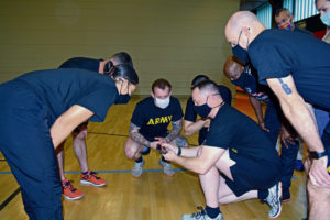 RHCE co-hosts physical readiness training leadership course