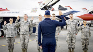 Air Force hits record retention levels, reviews voluntary force management efforts