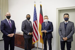 Host Nation Office promotes community cohesion, German relations