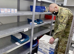 USAMMC-E helps distribute COVID-19 vaccine to Soldiers throughout Europe, Africa