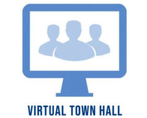 Virtual town hall answers community questions