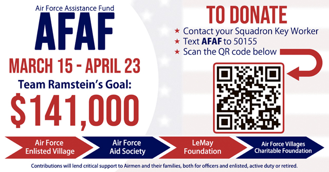 Air Force Assistance Fund campaign starts soon