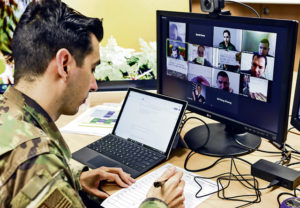 Inter-European Air Forces Academy honors fifth anniversary with Second Virtual Professional Military Education Course Graduation