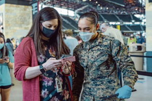 DOD prioritizing COVID-19 vaccinations to those deployed