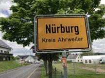 Nürburg city limit sign