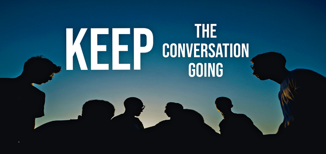 Commentary: Keep the conversation going