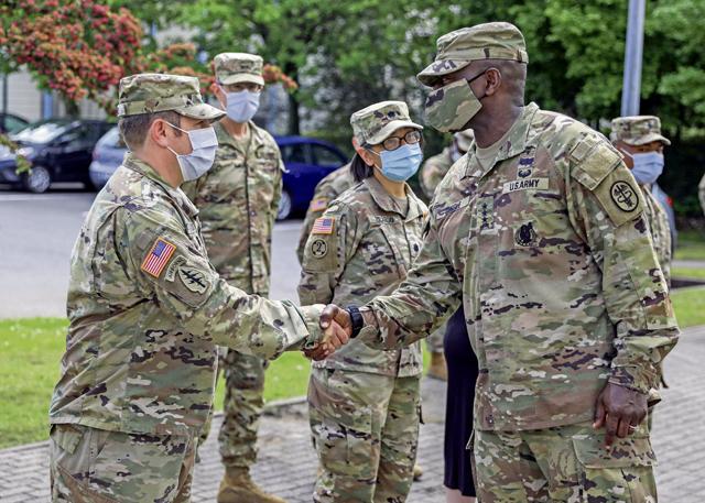 Army senior medical leadership visits Europe
