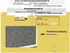 Beware of yellow envelope: Garnishment in Germany