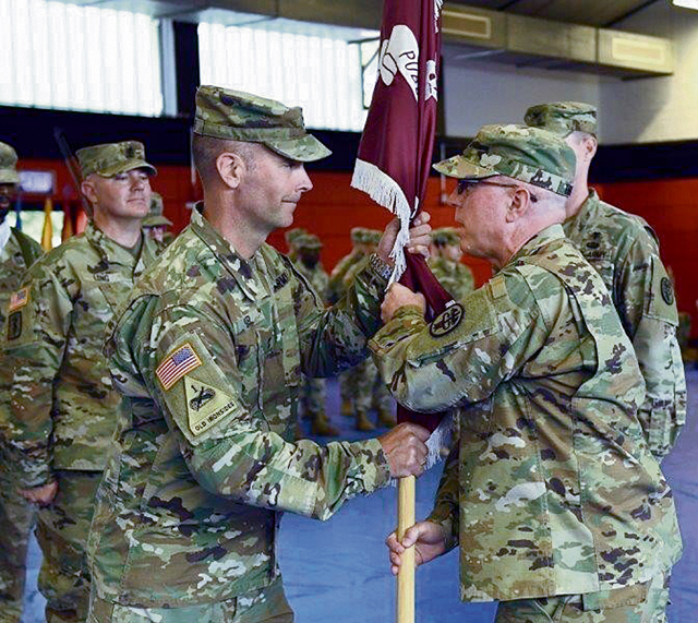 Public Health Command Europe welcomes new commander